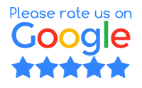 Please rate us on Google